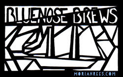 Beer Labels: Schooner Bluenose Brews